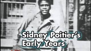 A montage of the early years oscar-winning actor sidney poitier at 20th afi life achievement award: tribute to (1992). connect wi...