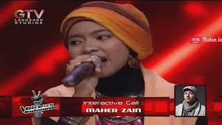 "Sharla Jombang ""Assalamualaika Ya"" di Telpon Langsug Oleh Maherzein"