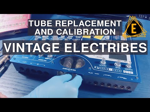 Electribe EMX-1 And ESX-1 - Tube Replacement And Calibration