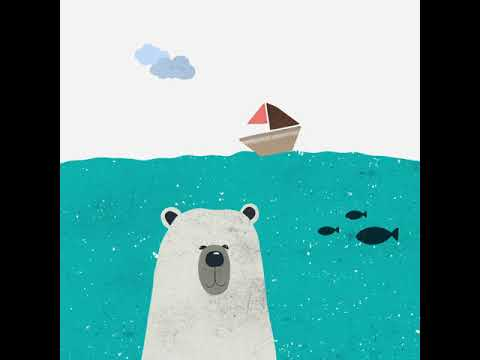 Bear top the boat animation made with Adobe After Effects 熊熊遇到船動畫