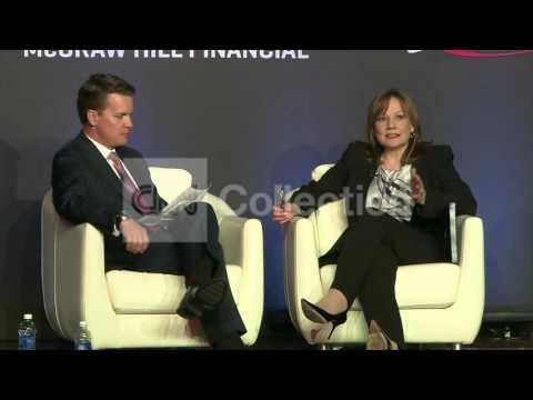 NY:GM CEO MARY BARRA PRESSER
