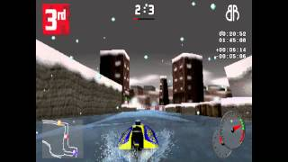 VR Sports Powerboat Racing - HD Remastered Showroom - PSone