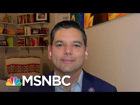 Rep. Raul Ruiz On Challenges Vaccinating Underserved Communities   The Last Word   MSNBC