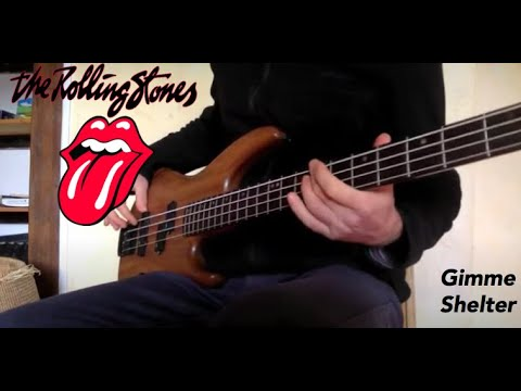 The Rolling Stones  -  Gimme Shelter -  Bass cover