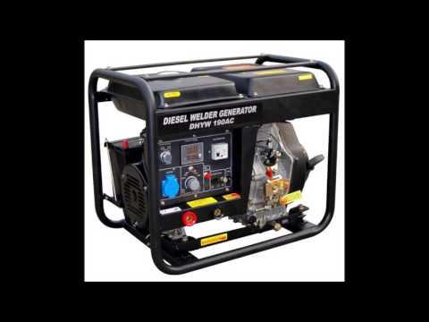 2kw Diesel Generator Sound *1 Hour* [Whitenoise / Background]