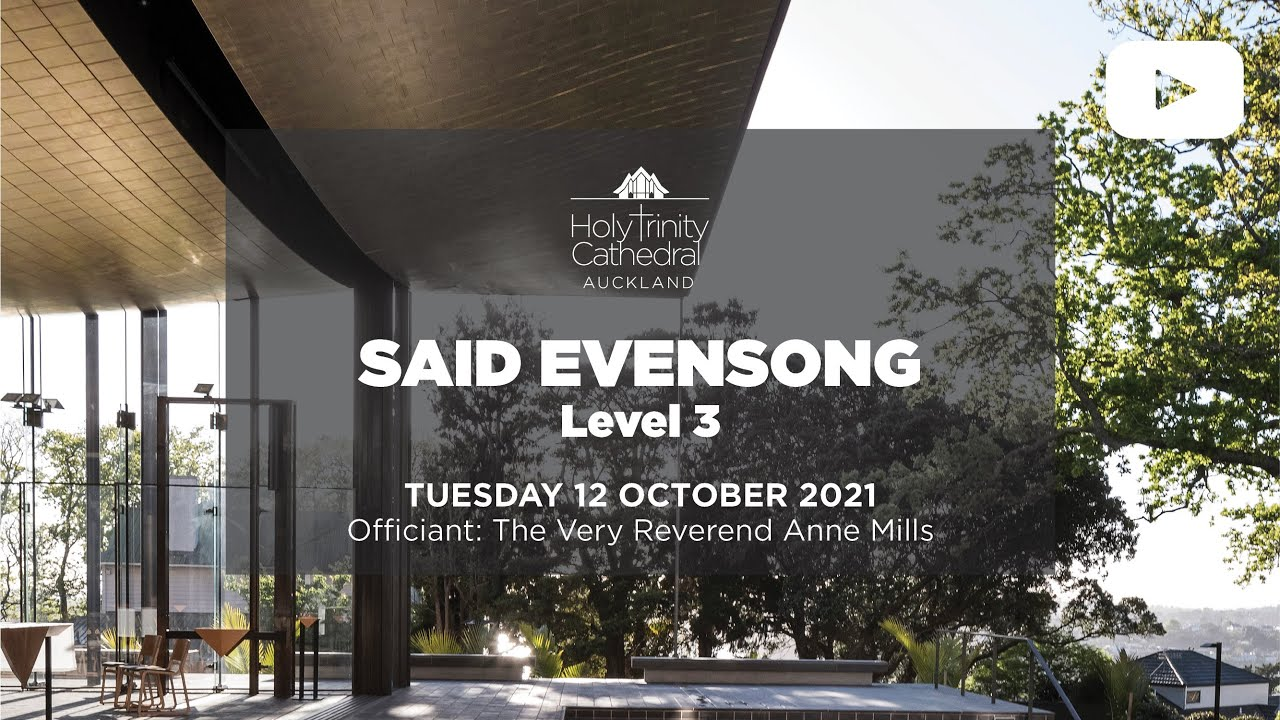 Said Evensong - Tuesday 12 October 2021
