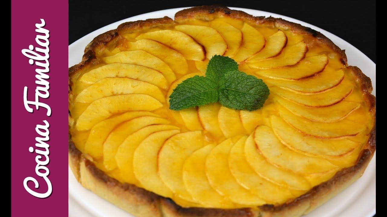 Como hacer tarta de manzana   Javier Romero - YouTube