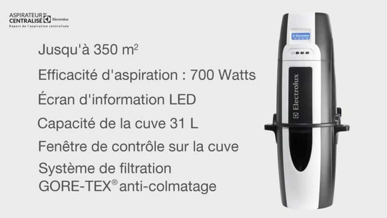 aspirateur centralis electrolux zcv870 hurricane youtube. Black Bedroom Furniture Sets. Home Design Ideas