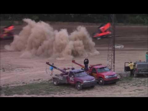 Butler Motor Speedway Sprint Heat #2 5/28/16