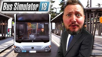 VI KOMMER FOR SENT! - Bus Simulator 2018 Dansk Ep 1