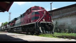 Ferromex 4603 y 4008 grain train