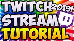 How To STREAM On TWITCH.TV For BEGINNERS 2020! 🎮 (DONATION and FOLLOW ALERTS INCLUDED)