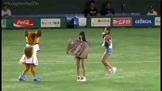 NGT48長谷川玲奈の神ストライクを奪い取れ!! vs大谷翔平Shohei Ohtani(日本ハムファイターズ)하세가와레나 20160901