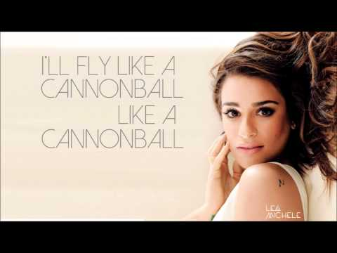 Cannonball - Lea Michele (Single) [Lyric Video]