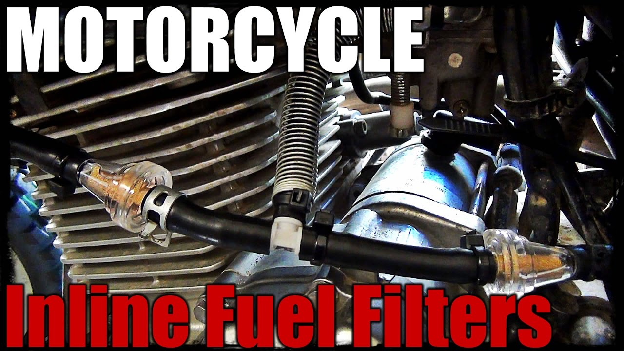 Motorcycle Inline Fuel Filters