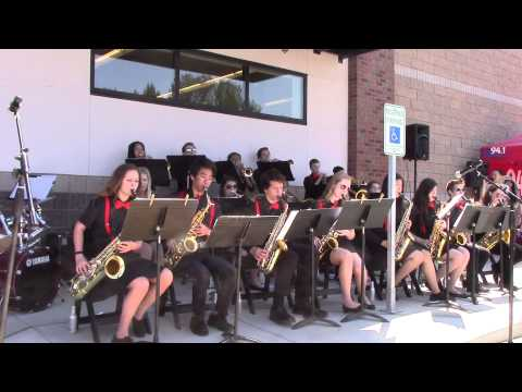 Burritos To Go played by Alderwood Middle School Jazz Band - May 30, 2015
