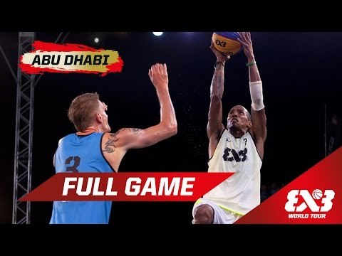 Ljubljana vs NY Harlem - QF Full Game - Abu Dhabi - 2015 FIBA 3x3 World Tour Final