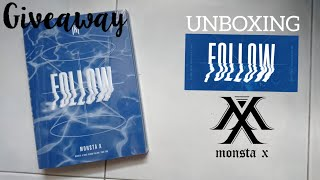 [GIVEAWAY? + UNBOXING] MONSTA X - FOLLOW FIND YOU VERSION.3 …