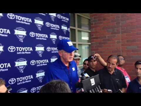 Giants Training Camp Report, July 21