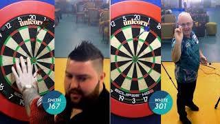 Speed Darts! Ian White v Michael Smith - who is fastest?