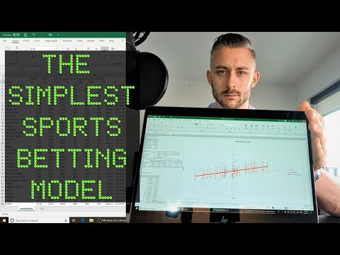 Creating A Sports Betting Model 101 - Intro To Linear Regression (The Simplest Model Ever Created!)