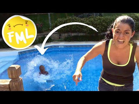 Mom Throws Daughter's iPhone in Pool! from YouTube · Duration:  38 seconds