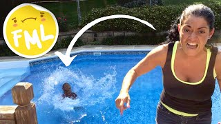 Mom Throws Daughter's iPhone in Pool!