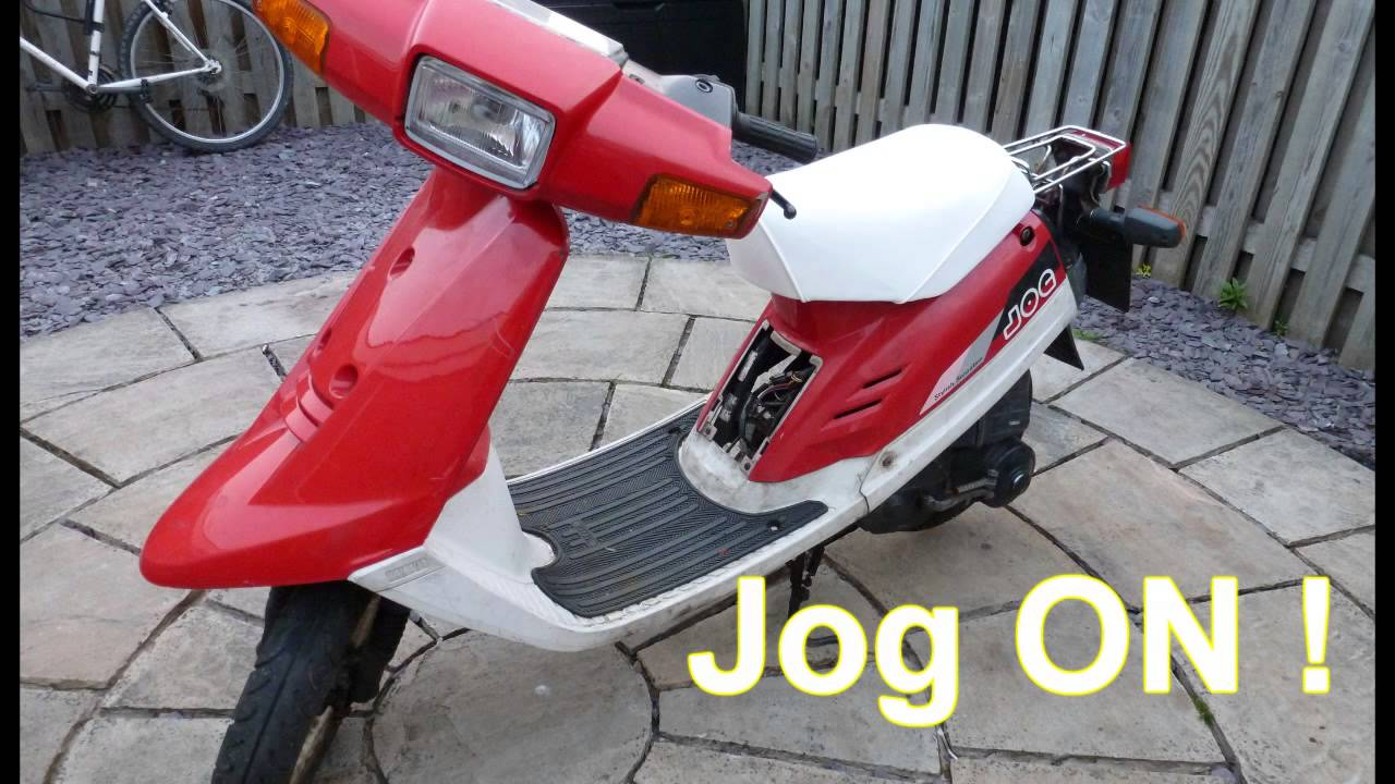 Højmoderne Yamaha Jog CG50 Moped Scooter Part 1 - YouTube EX-62