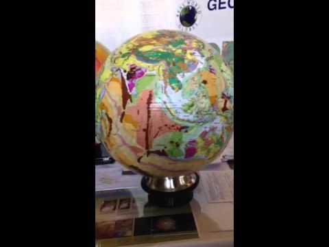 3D Geology Globe