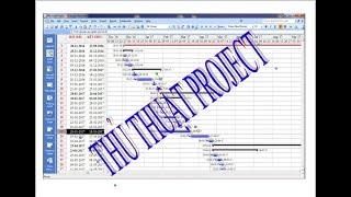 Thay đổi định dạng ngày tháng trong Project - Hướng dẫn project - Sử dụng Project
