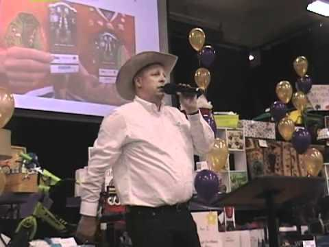 Crown Point Christian School Auction 2012,  Auctioneer.mp4