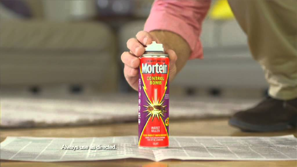 Mortein Control Bombs With Nigel Ruck How To Video