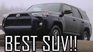 Why the 2016 Toyota 4Runner is the Best SUV!!