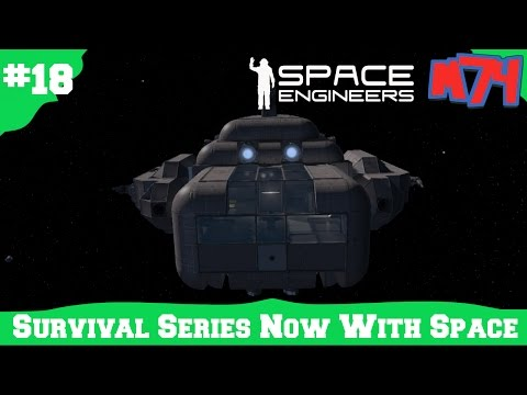 Space Engineers Survival Series: Projectors And Ship Repairs [S1E18]