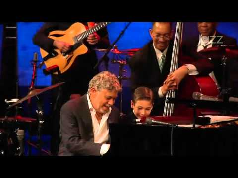 Brandon with Monty Alexander-1 of 2-Fly Me to the Moon Jazz at Lincoln Center