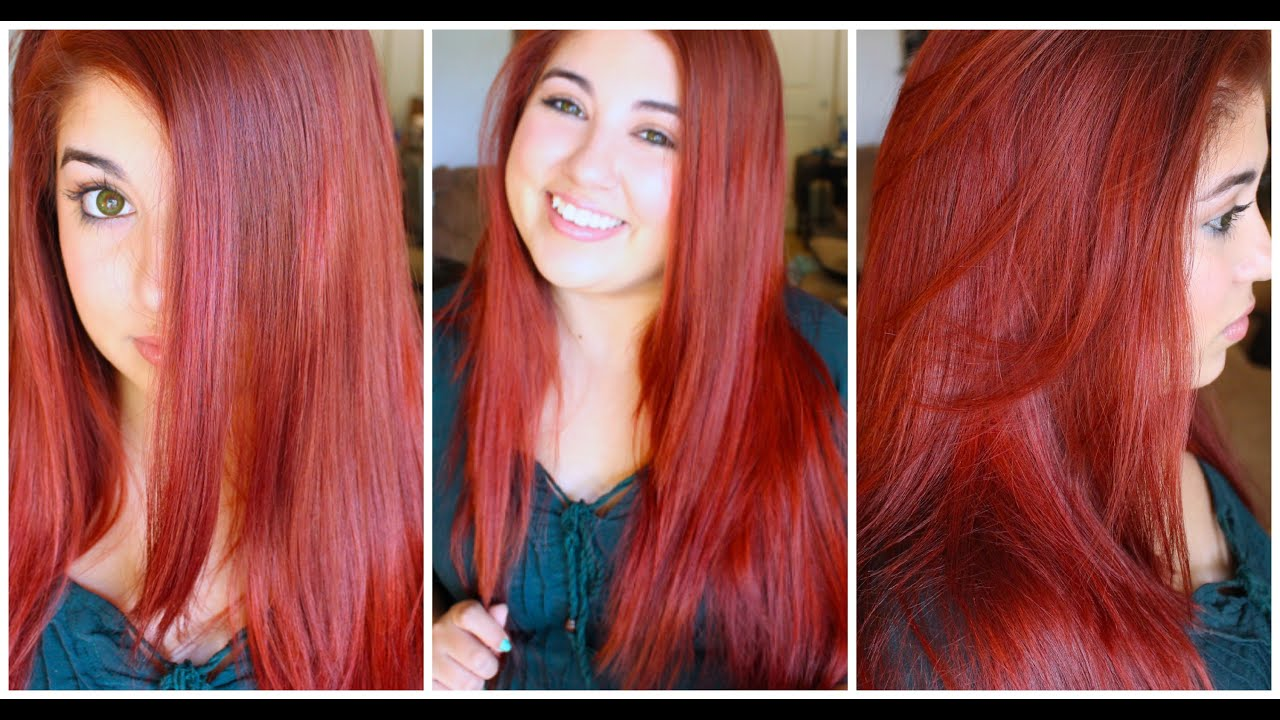 dye hair demo &
