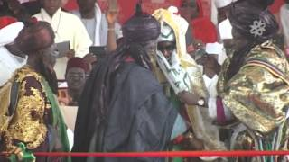 Sanusi Lamido Sanusi Has been Officially Crowned  As Emir of Kano
