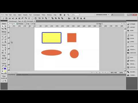 Tutorial: Adobe Fireworks CS5 for Beginners Lesson 9
