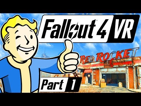 LET'S PLAY FALLOUT 4 VR + GIVEAWAY | Fallout 4 VR Gameplay & First Impression Part 1