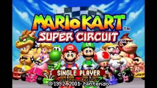 Mario Kart Super Circuit -Gba 50cc Mushroom Cup