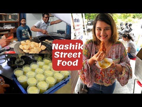 Nashik Street Food | Misal Pav, Momos & More | Golgappa Girl