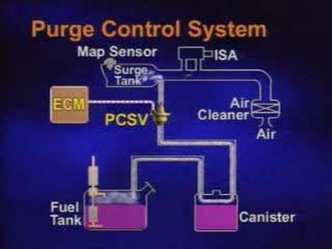 Purge Control Solenoid Valve  YouTube
