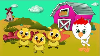 The little chicks - Nursery songs