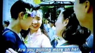 1994年寶塚本科生賣花日 片中給上級生整的.....是不是真飛聖啊?! OMG~~~