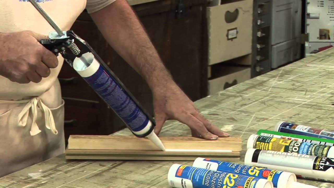A Guide To Using A Silicone Sealant Gun  YouTube