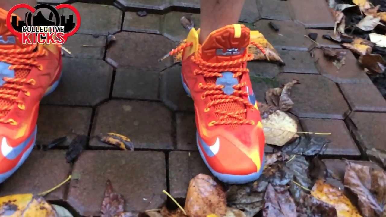 new style aa7dc 763e9 On Foot  Nike Lebron XI (11) Preheat