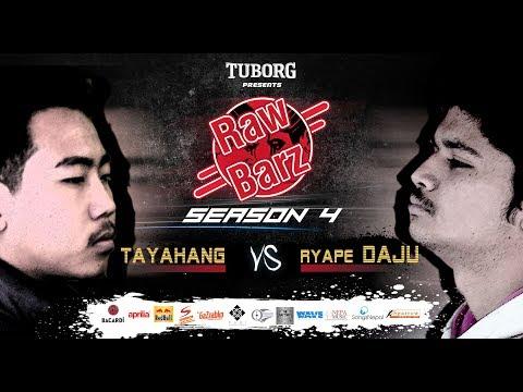 Tayahang Vs Ryape Daju (Official Battle) | Tuborg Presents RawBarz Rap Battle S4E3 (Nepali Video)