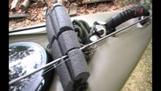Ascend FS12T Sit On Top Kayak Review & Rigging Part 5 - Fishing Rod Holder