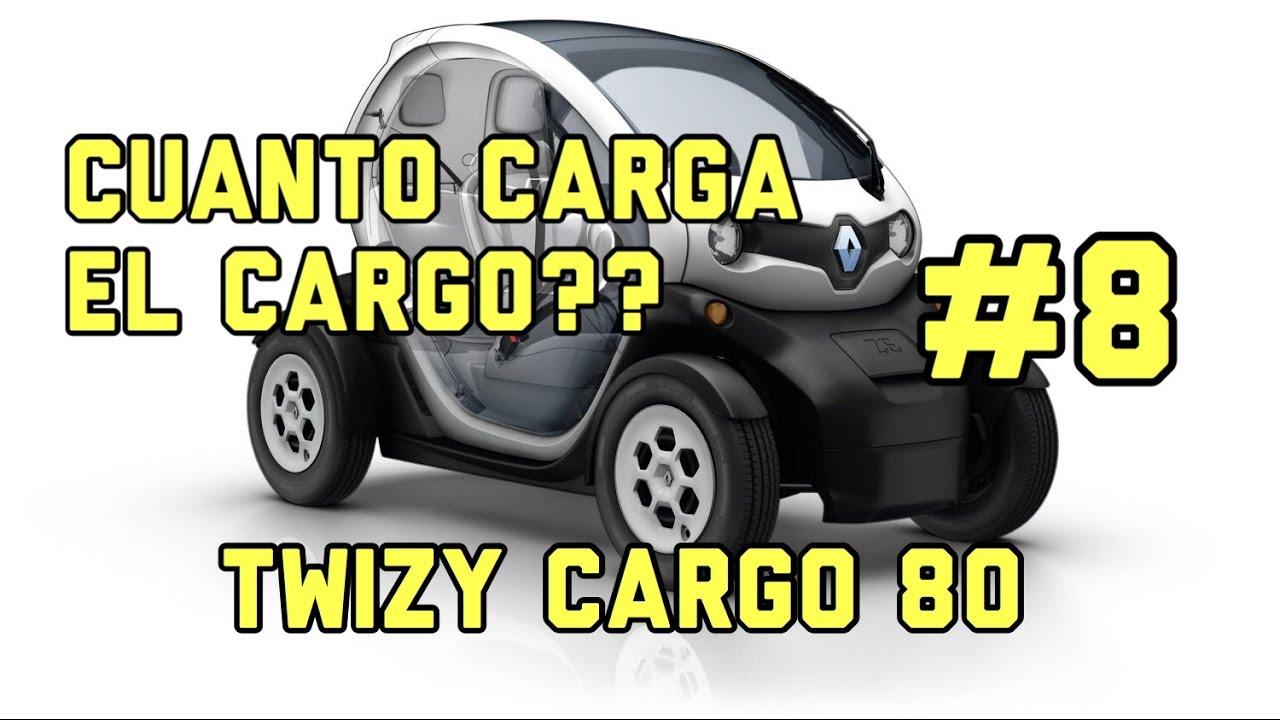 Renault Twizy Cargo 80 ¿Cuanto carga el Cargo? #8