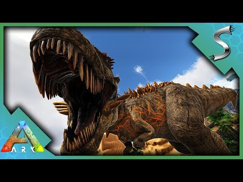DEFEATING THE ALPHA 06 BOSS! SO MANY SPINOS DIED! - Ark: Jurassic Park [E41]
